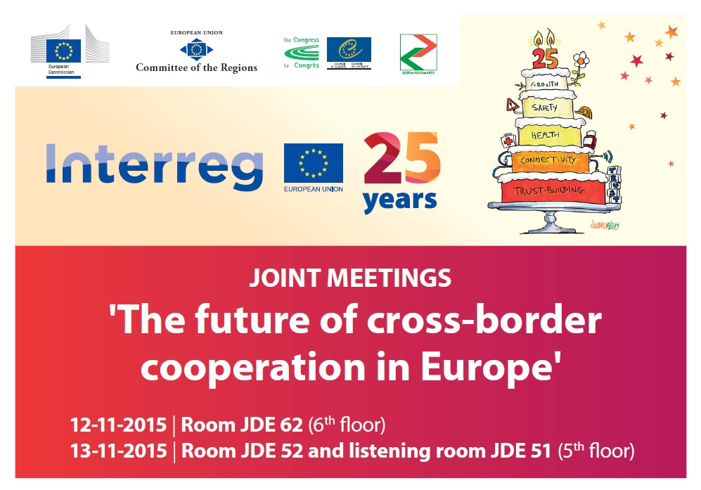 The future of Cross-Border Cooperation in Europe (CoR/ AEBR Joint Meetings)