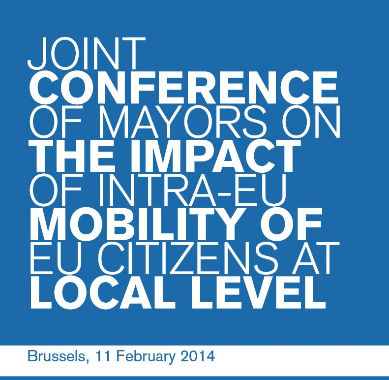 Joint Conference of Mayors on the impact of intra-EU mobility of EU citizens at local level
