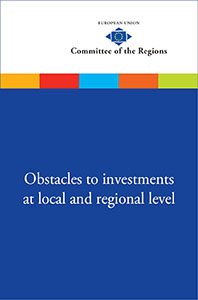 Obstacles to investments at local and regional levels